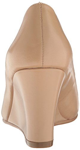 Aerosoles Pump Partnership Leather Wedge Light Women's Tan qRwOqF