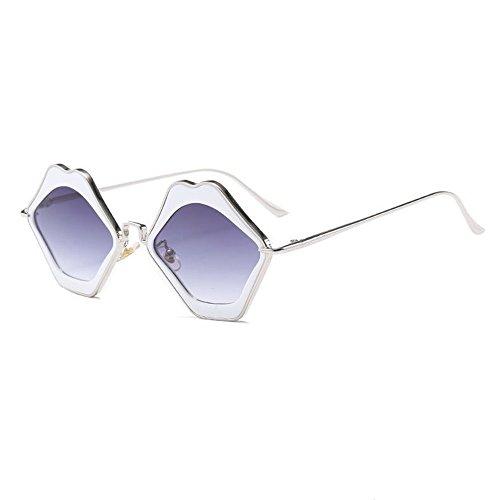 Fashion Sunglasses Soleil Sunglasses Douerye Lunettes Purple Trendy De Lip Sunglasses Hgqxafx