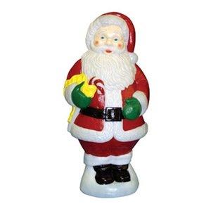 general foam plastics c5280ts santa candy cane figurine 31 inch