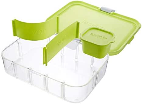 PackIt Flex Bento Food Storage Container, Lime Punch