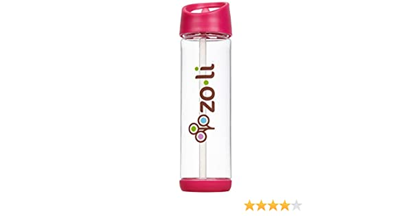 ZoLi PIP Straw Water Bottle 18 oz Pink