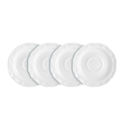 Mikasa French Countryside Tea Saucers-Set of 4 ()