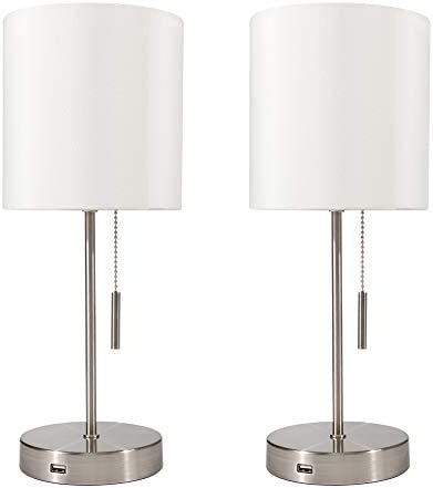 DEEPLITE Bedside Nightstand Cylinder Lampshade product image