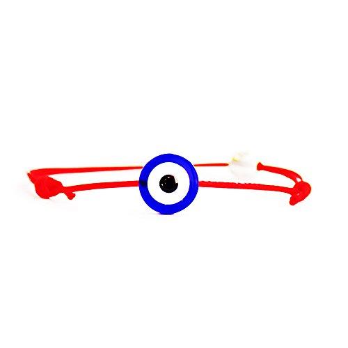 Matimoo Evil Eye Bracelet (Red 1mm)