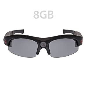 iVUE Horizon 1080P HD Camera Glasses Video Recording Sport Sunglasses DVR Eyewear (1080P @ 30fps, 720P @ 60fps, Wide Angle)