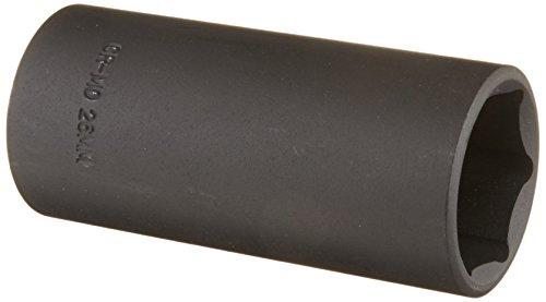 Sunex 226md 1/2-Inch Drive 26-mm Deep Impact Socket ()