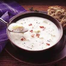 Sea Watch Mid Atlantic Condensed Clam Chowder - 51 oz. can, 12 per case