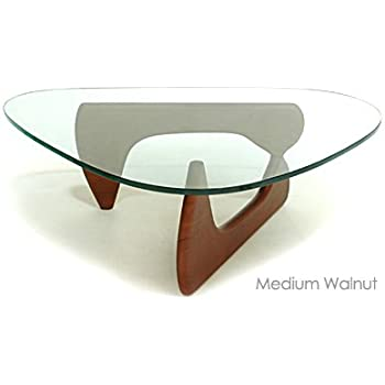 Elegant Noguchi Tribeca Coffee Table   Medium Walnut