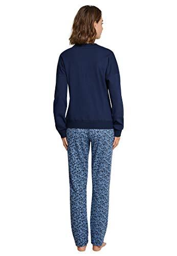 Anzug Pijama 804 Lang Para Conjuntos Azul Seidensticker nachtblau Mujer De BSIqwxnvWd