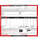 Hazardous Materials Straight Bill Of Lading - Snap-Out, 4-Ply, Carbonless (Pkg Qty 250)