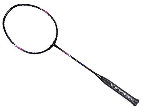 Apacs Accurate 77 Black Navy Glossy Badminton Racket (4U) by Apacs