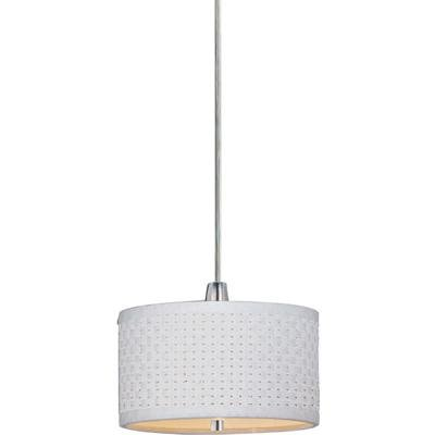 Satin Nickel 1 Light 7In. Rapidjack Mini Pendant From The Elements Collection E95052-100SN ()