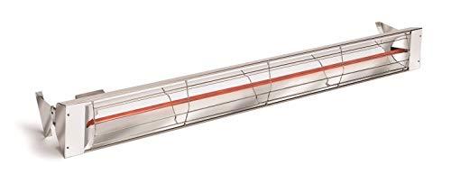 Infratech W3024SS Single Element - 3000 Watt Electric Patio Heater, Choose Finish: Stainless Steel