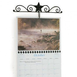 Barn Star and Scroll Calendar Hanger