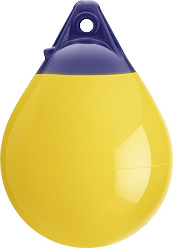 Polyform US A Series Buoy Boat Fenders, 17 x 23, Yellow