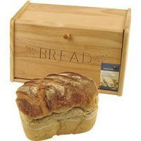 Traditional wooden bread bin - Drop down front by Sunnex