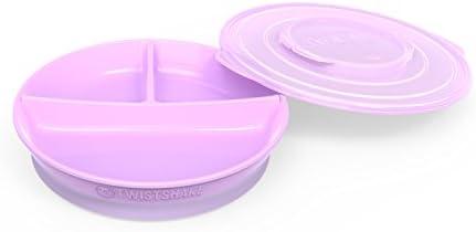 color morado pastel Twistshake 78172 Platos