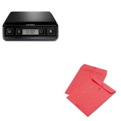Button Colored Interoffice Envelope - 9