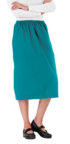 (Scrub Skirt By White Swan Uniforms (Teal,)