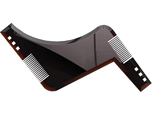 - icyber Beard Shaping and Styling Template Comb Tool