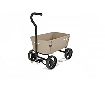 Beach Wagon plegable carrito de madera plegable beige Beach ...