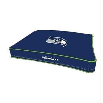 NFL SEATTLE SEAHAWKS Pet Bed. - SEAHAWKS Dog Bed. - SEAHAWKS Cat Bed. - Plush Pet Bed. - DOG BED. - CAT BED. (Nfl Team Pet Mat)