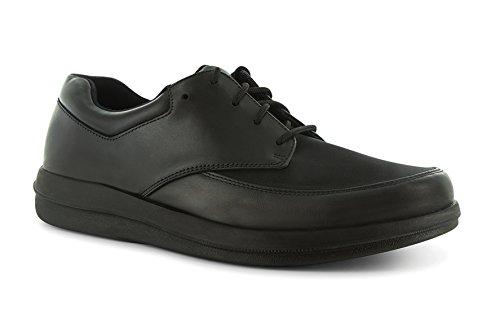 P W Minor Natural Men's Therapeutic Diabetic Extra Depth Shoe: Black 15 Wide (E) Lace by P.W. Minor