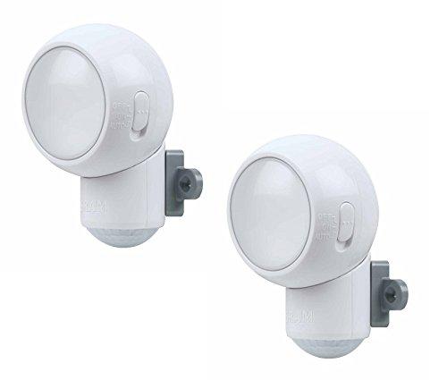 Osram Spylux – Luz de noche con encendido automático y sensor de movimiento, 2 unidades