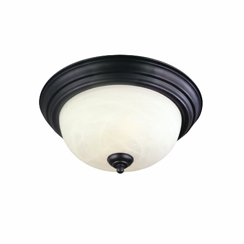 Thomas Lighting SL8693-63 Essentials Ceiling Lamp Flush Mount Painted Bronze