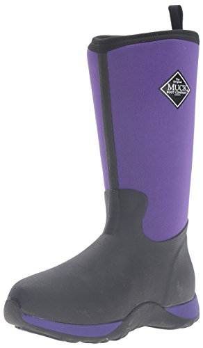 Muck Boot Kids' Arctic Adventure Pull-on Boot, Purple/Black, 9 M US Toddler by Muck Boot
