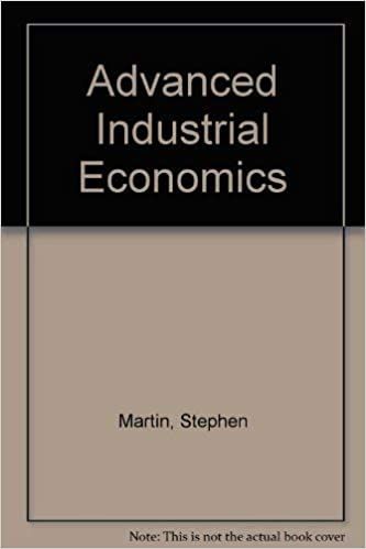Advanced Industrial Economics 9780631178521 Economics Books Amazon Com