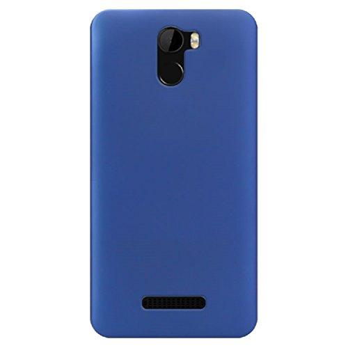 BLU VIVO 8L (5.3) Case, ZLDECO Ultra Slim Shock Proof Matte Hard Skin Case Cover Protect for Blu Vivo 8L Smartphone (Dark Blue)