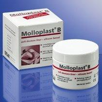 Molloplast-B Now Microwaveable! (Heat-Cured A-Silicone) Regular- 45gr 009-62300 Us Dental Depot