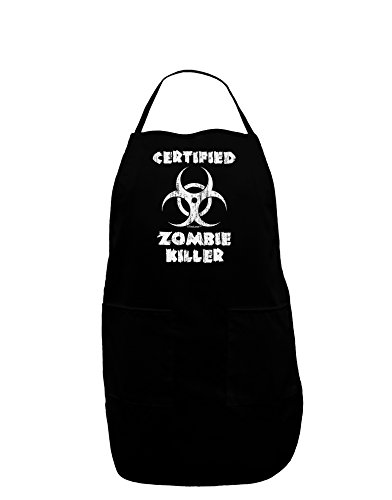 mbie Killer - Biohazard Dark Adult Apron - Black - One-Size ()
