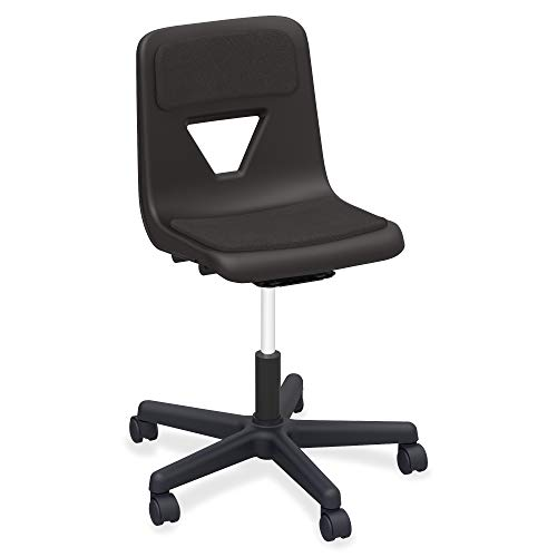- Lorell 99913 Classroom Adjustable Height Padded Mobile Task Chair, 32.5