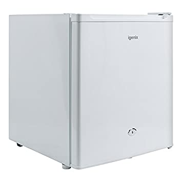 Igenix IG3751 Table Top Mini Freezer with 35 Litre Capacity, Ideal for Additional Freezer Space with 1 Shelf, Reversible and Lockable Door, White [Energy Class A+]