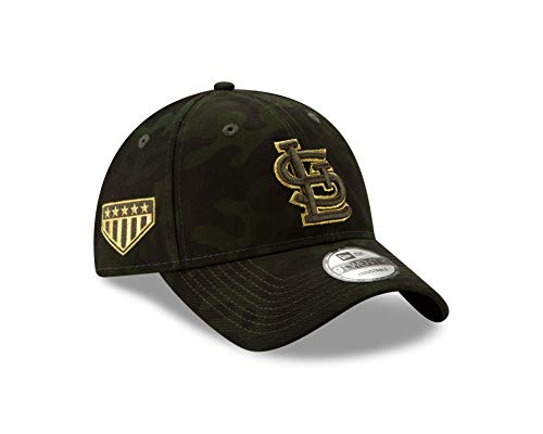 (New Era St.Louis Cardinals 2019 MLB Armed Forces Day 9TWENTY Adjustable Hat - Camo)