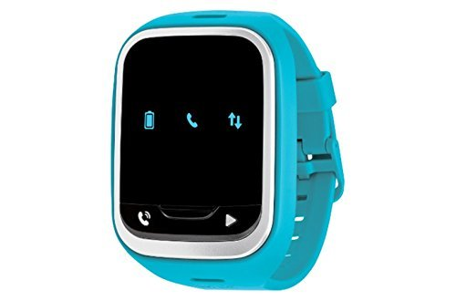 (LG GizmoPal 2 VC110 Verizon Wireless GPS Track Call Child Wearable Smartwatch - For Verizon Wireless Only - Blue (Certified Refurbished))