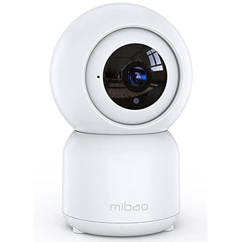Cámara de Vigilancia WiFi, Mibao 1080P Cámara IP Inalámbrica, HD Visión Nocturna, Detección de Movimiento Remoto, Alerta de aplicación, Audio Bidireccional, Monitor para Bebé/Mascota/Tienda a buen precio