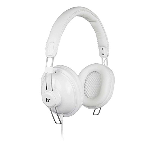 KitSound Levellers Sound Limiting Headphones Suitable for Kids Compatible with iPhone, iPad, iPod, Samsung, Android, Tablets and MP3 Devices (Pure-White)