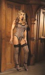 Bustier Set Leopard ()