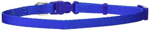 Coastal Pet Products DCP222BLU 5/16-Inch Nylon Pals Dog Collar, X-Small, Blue