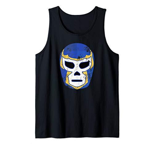 Lucha Libre Wrestling Mexican Luchador Mask  Tank Top]()