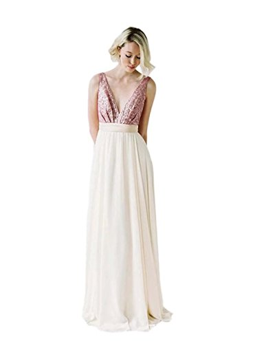 fitted backless wedding dress - 4