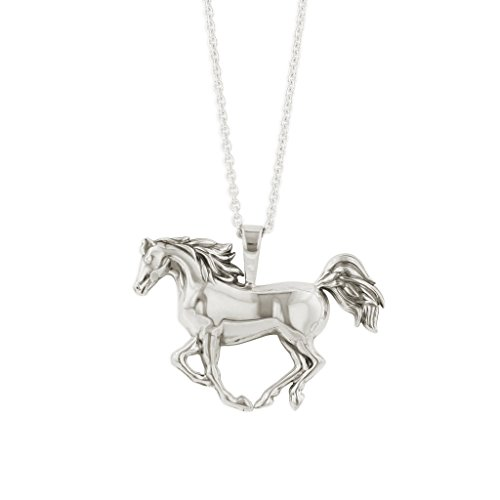 Kabana Horse Sterling Silver Penant Necklace with Chain