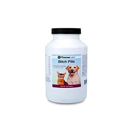 Bitch Pills Dogs and Cats 120ct prenatal formula