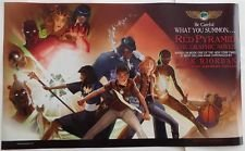 Two Sided Graphics - SDCC 2014 EXCLUSIVE Rick Riordan THE RED PYRAMD THE GRAPHIC NOVEL 2-Sided Poster 24