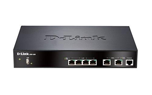 D-Link Dual Wan 4-Port Gigabit VPN Router with Dynamic Web Content Filtering (DSR-500)
