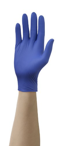 Mr. Clean 243061 Disposable Nitrile Latex-free Gloves, One Size Fits All, 30 Pairs