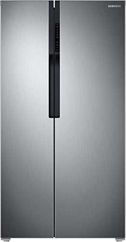 Samsung 604 L Frost Free Side by Side Refrigerator RS55K5010S9/TL, Silver